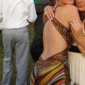 Aftershock Dresses - Backless maxi dress